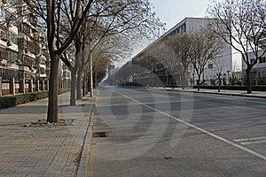 Winter Street Stock Photo - Image: 16761810