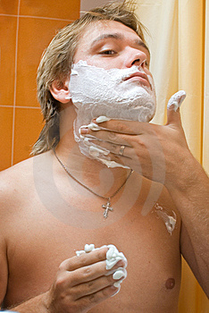 Man Shaving Stock Photos - Image: 16762333