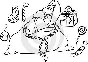 Set Of Christmas Icons Royalty Free Stock Photography - Image: 16764167