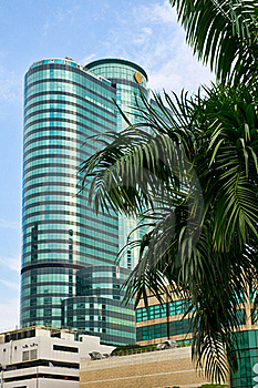 Business Centre, Bangkok, Thailand Stock Image - Image: 16764921