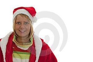 Chrismas Girl Royalty Free Stock Image - Image: 16765026