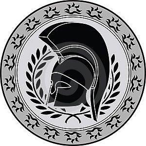 Ancient Hellenic Helmet Royalty Free Stock Photo - Image: 16765275