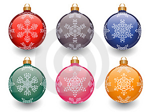 Christmas Baubles Stock Images - Image: 16765504