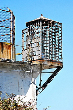 Alcatraz Cage Royalty Free Stock Photo - Image: 16766075
