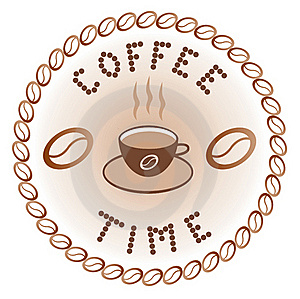 Sign Of Coffee Time Stock Photography - Image: 16766552