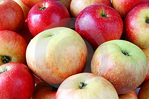 Ripe Sweet Fresh Apples Stock Images - Image: 16769184