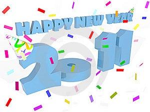 Happy New Year 2011 Royalty Free Stock Photos - Image: 16770828