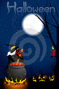 Scary Witch Stock Photo - Image: 16775390