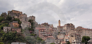 View Of Corte, Corsica Royalty Free Stock Photos - Image: 16775978