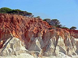 Red Seashore Stock Photography - Image: 16777042