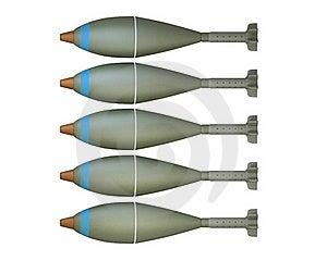 Mortar Shells Royalty Free Stock Photos - Image: 16777178