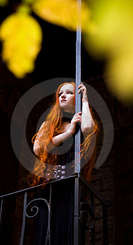 Redhead Girl5 Royalty Free Stock Photo - Image: 16778775