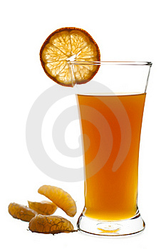 Glass Of Freshly Squeeze Orange Fruit Juice Royalty Free Stock Photography - Image: 16779127