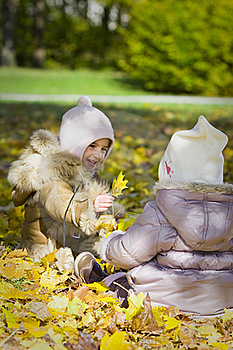 Little Girls Playing Stock Photos - Image: 16780003