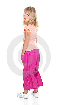 Cute Blonde Teen Girl Royalty Free Stock Images - Image: 16782849