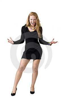 Aggressive Woman Stock Images - Image: 16782944