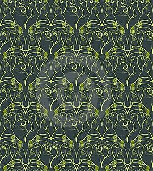 Seamless Wallpaper Stock Photo - Image: 16783800