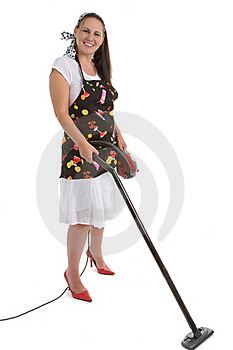 Housewife Royalty Free Stock Image - Image: 16783846