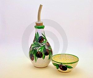 Olive Oil Dropper Stock Image - Image: 16784621