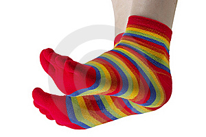 Funny Stockings Royalty Free Stock Photography - Image: 16795177