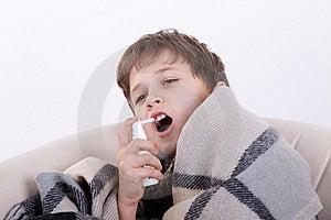 The Ill Boy Royalty Free Stock Photos - Image: 16795268