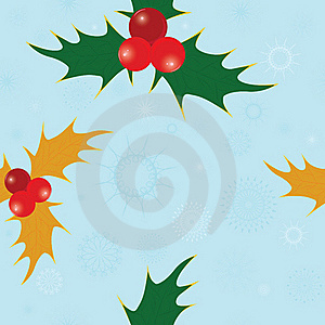 Seamless Snowflakes Pattern Stock Photos - Image: 16797833