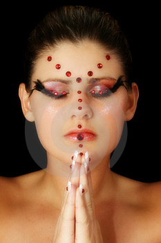 Beaded Beauty Stock Images - Image: 1680254