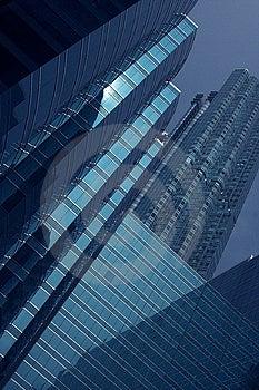 Stock Images - Hong Kong Skyscraper