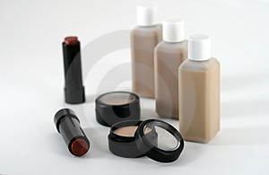 Professional quality make up and cosmetic products Royalty Free Stock Photography