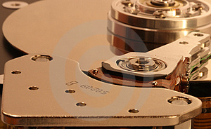 Hard Disk Stock Image - Image: 1682771