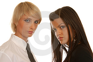 Business Woman's Teamwork. Royalty Free Stock Photo - Image: 1688735
