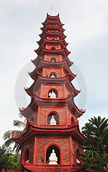 Buddhist  Pagoda  Temple Tower Stock Photos - Image: 16800453