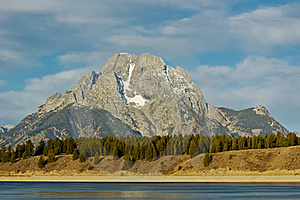 Mount Moran Royalty Free Stock Photo - Image: 16804875
