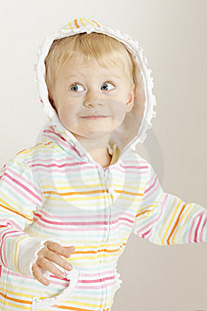 Portrait Of Toddler Royalty Free Stock Photography - Image: 16806497