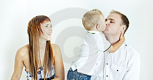 Young Family Royalty Free Stock Photos - Image: 16806688