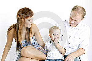Young Family Stock Image - Image: 16806691