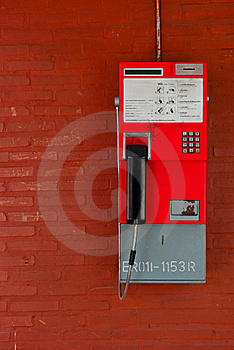 Thailand Public Pay Phone Royalty Free Stock Photography - Image: 16807087
