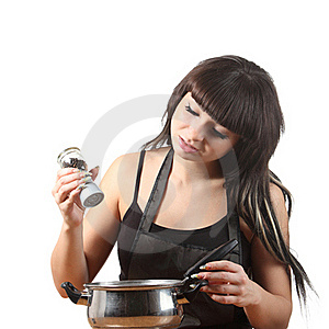 Women Cooking Stock Images - Image: 16808174