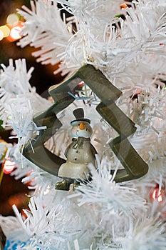 Christmas Snowman Decoration Stock Images - Image: 16809104