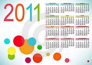 Abstract Design Of Calendar Royalty Free Stock Photos - Image: 16809708