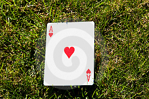Ace Of Hearts Royalty Free Stock Photo - Image: 16810055