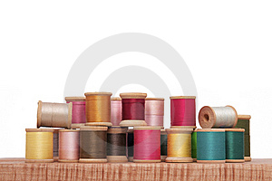 Spools Of Thread Royalty Free Stock Photography - Image: 16814477