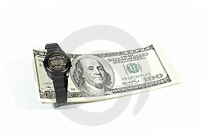 Hours And Dollars Royalty Free Stock Photos - Image: 16814578