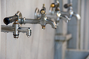 Dripping Taps Stock Photography - Image: 16816152