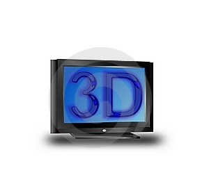 3D TV Stock Photo - Image: 16816960