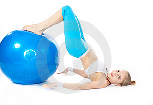 Woman In Fitness Stock Image - Image: 16818631