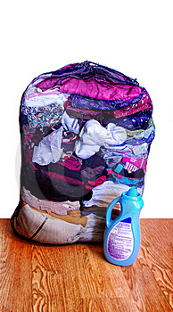 Mesh Laundry Bag Stock Images - Image: 16819334