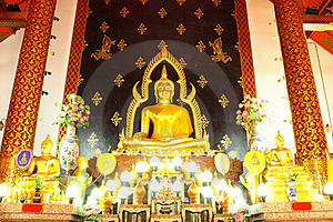 Wat Pra Bart Mingmuang Royalty Free Stock Photography - Image: 16819837