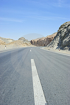 The Highway Of Mountain Royalty Free Stock Images - Image: 16820869