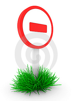 Sign It Is Forbidden Royalty Free Stock Photography - Image: 16821107